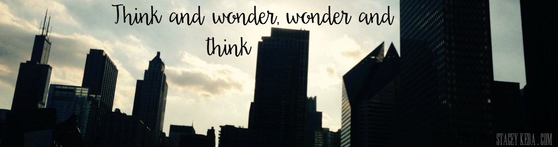 WONDER AND THINK