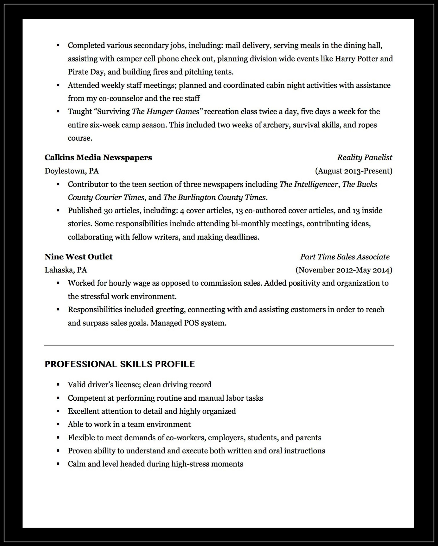 Sample Java Resumes 2 Years Experience Resume Writers Jacksonville